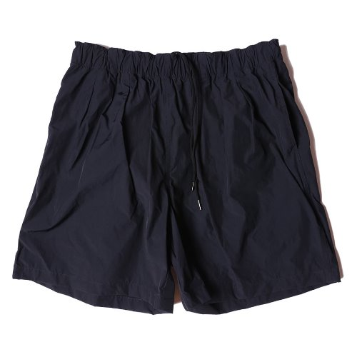 [VLNDFLES] 3TUCK WIDE SHORTS (Navy)
