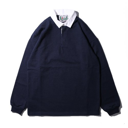 [Columbiaknit] Solid Rugby (Navy)