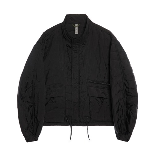 [UNAFFECTED] Multi Quilted Blouson (Black)
