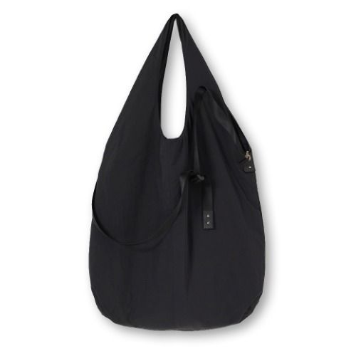 [YOUTH] Padded Shopper Bag (Black)