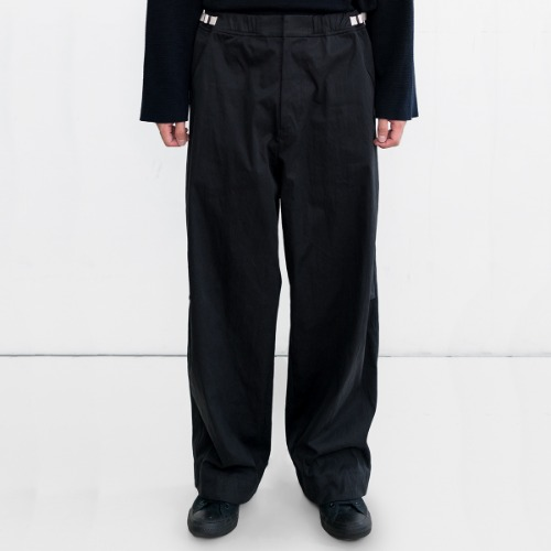 [polyteru] NP Dobi Lounge Pants (Black)
