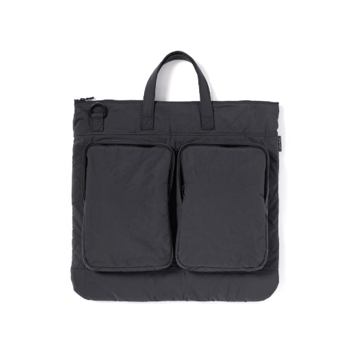 [mazi untitled] Helmet Bag (Grey)