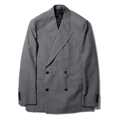 [MFPEN] Double Breasted Blazer (Grey)