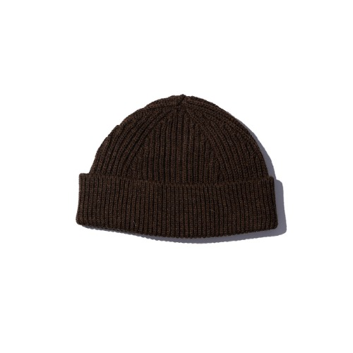 [ANDERSEN-ANDERSEN] Short Beanie (Natural Brown)