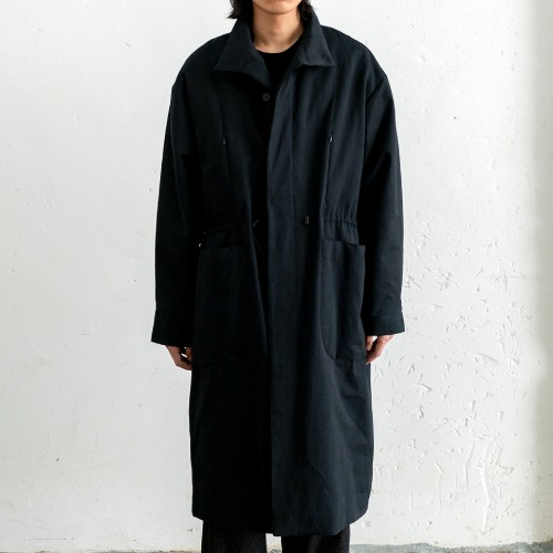[polyteru] Padded Dell Coat (Black)