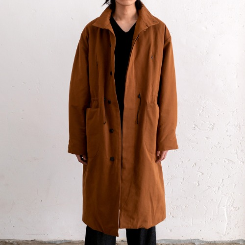 [polyteru] Padded Dell Coat (Brown)
