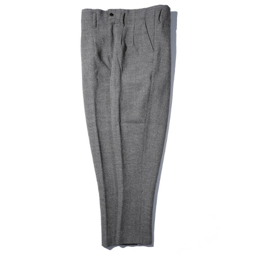 [AUBETT] Tweed 2 Tuck Trousers
