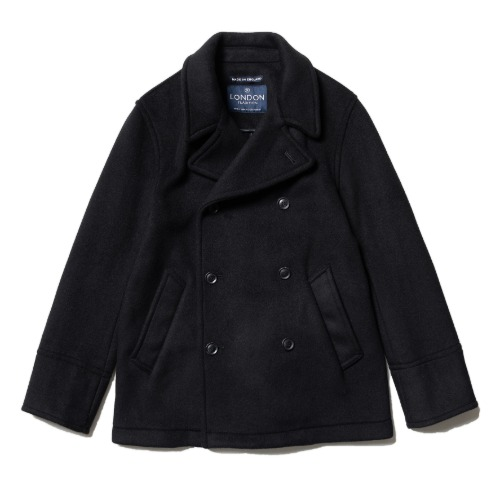 [LONDON TRADITION] Scott Mens Peacoat (Black)