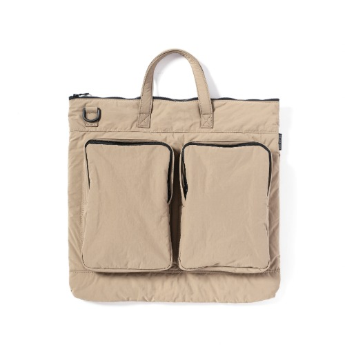 [mazi untitled] Helmet Bag (Beige)