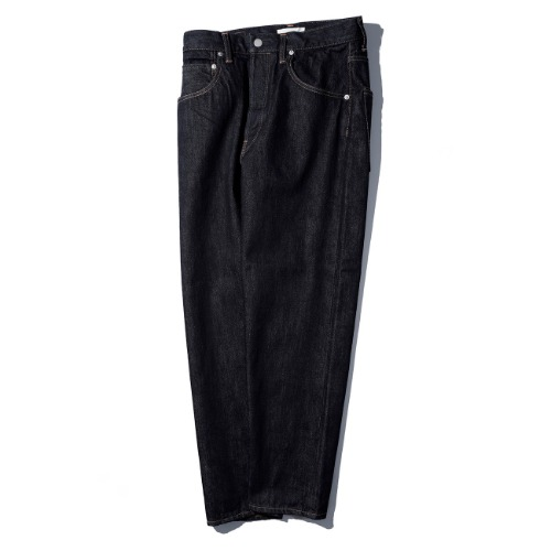 [HATSKI] Loose Tapered Pants (One Wash)
