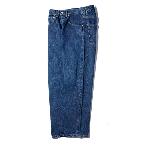 [HATSKI] Straight Denim Pants (Blue)