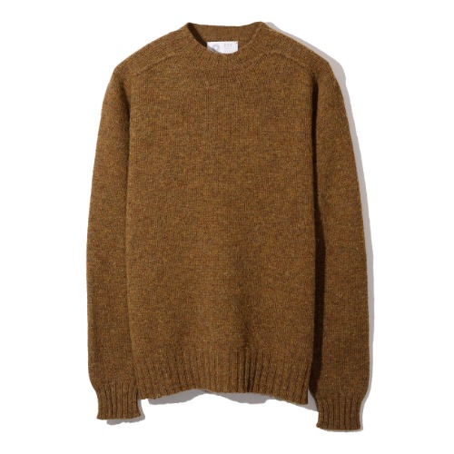 [Esk Valley Knitwear] Andy Seamless Shetland (Cinnamon)