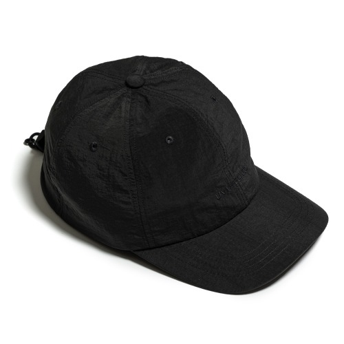 [UNAFFECTED] Logo Drawstring Ball Cap (Charcoal)