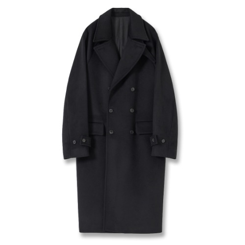 [YOUTH] Officer Coat (Black)