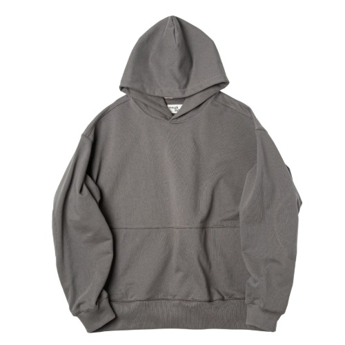 [rough side] Oversized Hoodie (Dark Grey)