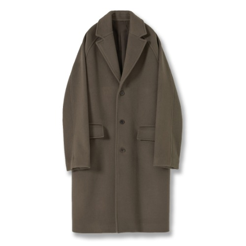 [YOUTH] Chesterfield Coat (Khaki)