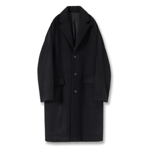 [YOUTH] Chesterfield Coat (Black)