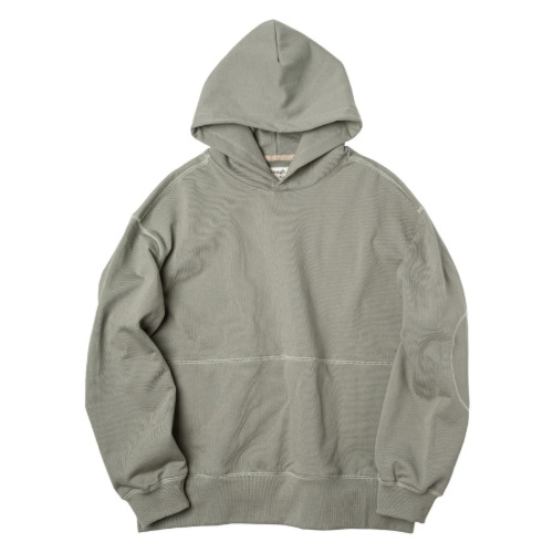 [rough side] Oversized Hoodie (Pale Mint)