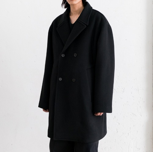 [polyteru] Pea Coat (Black)