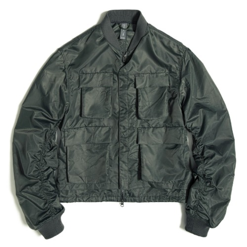 [UNAFFECTED] Layered MA-1 Flight Jacket (Sage Green)